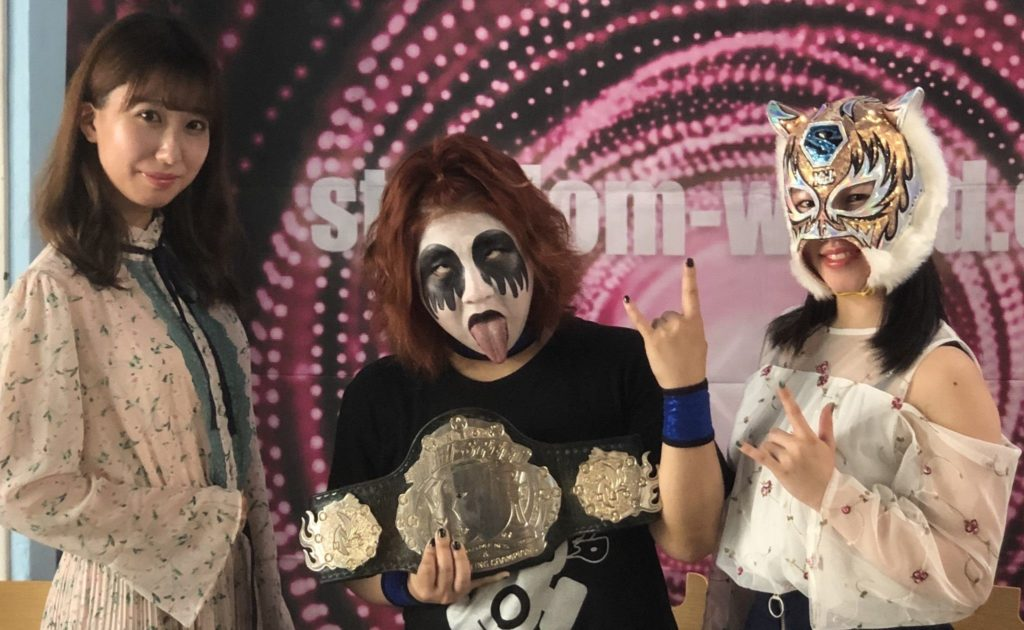 Press Conference for High Speed Championship Match on Stardom 10th August 2019