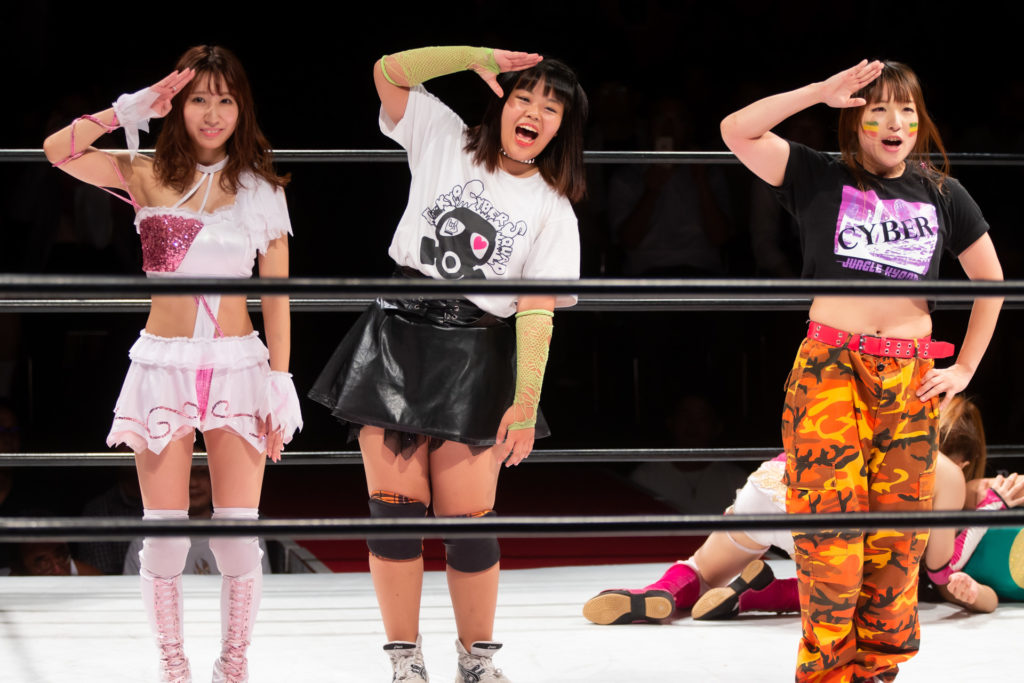 Riho on STARDOM 8/18/2019 07