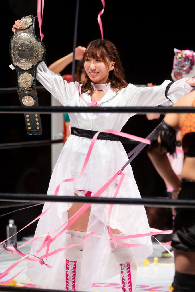 Riho on STARDOM 8/17/2019 01