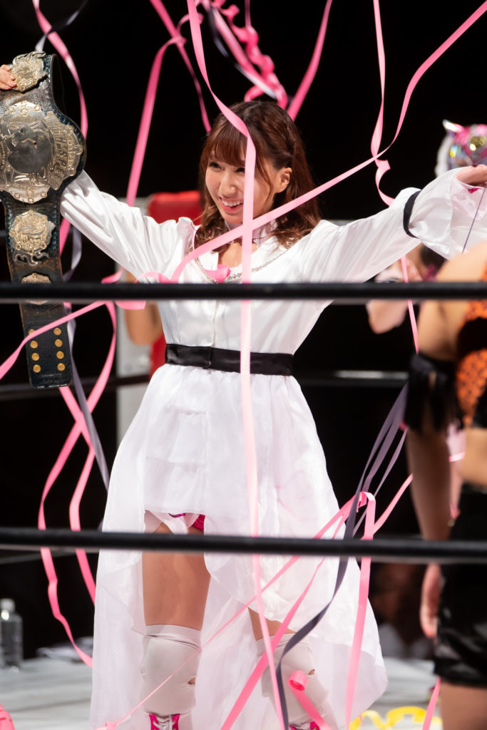 Riho on STARDOM 8/17/2019 02