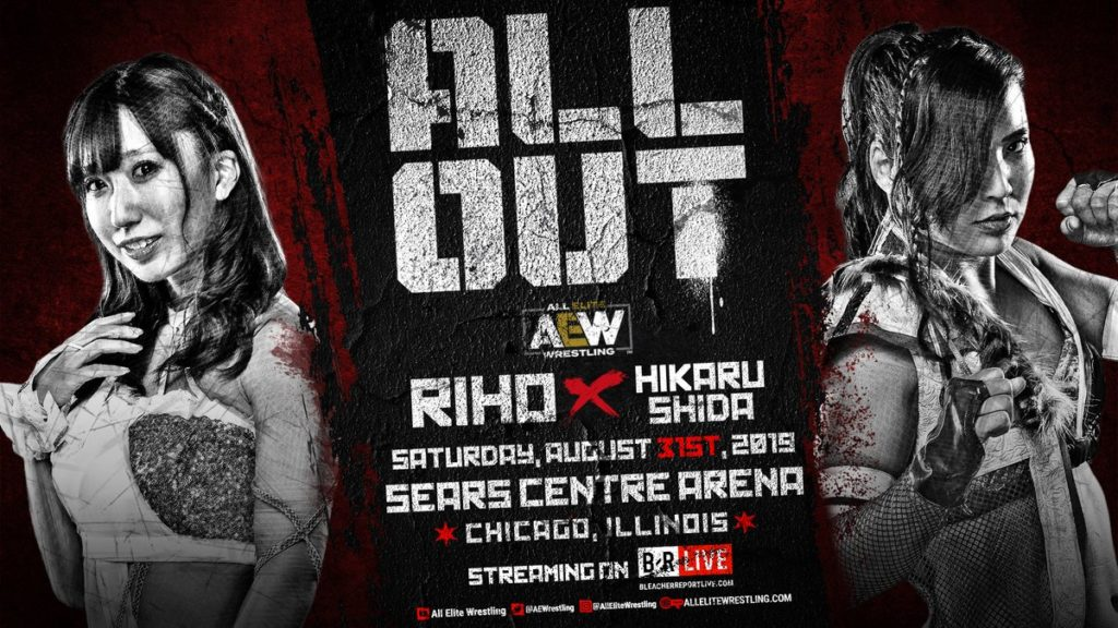 AEW ALL OUT Riho vs Hikaru Shida