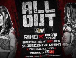 AEW ALL OUT Riho vs Hikaru Shida