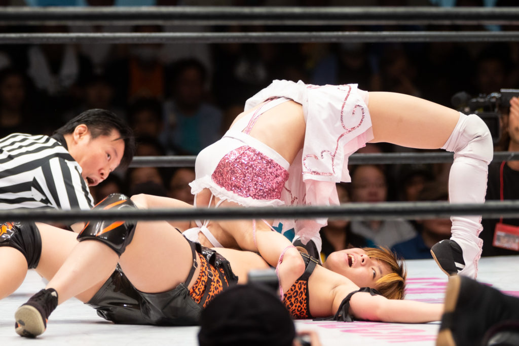 Riho on STARDOM 5STAR GP 2019 Final 05
