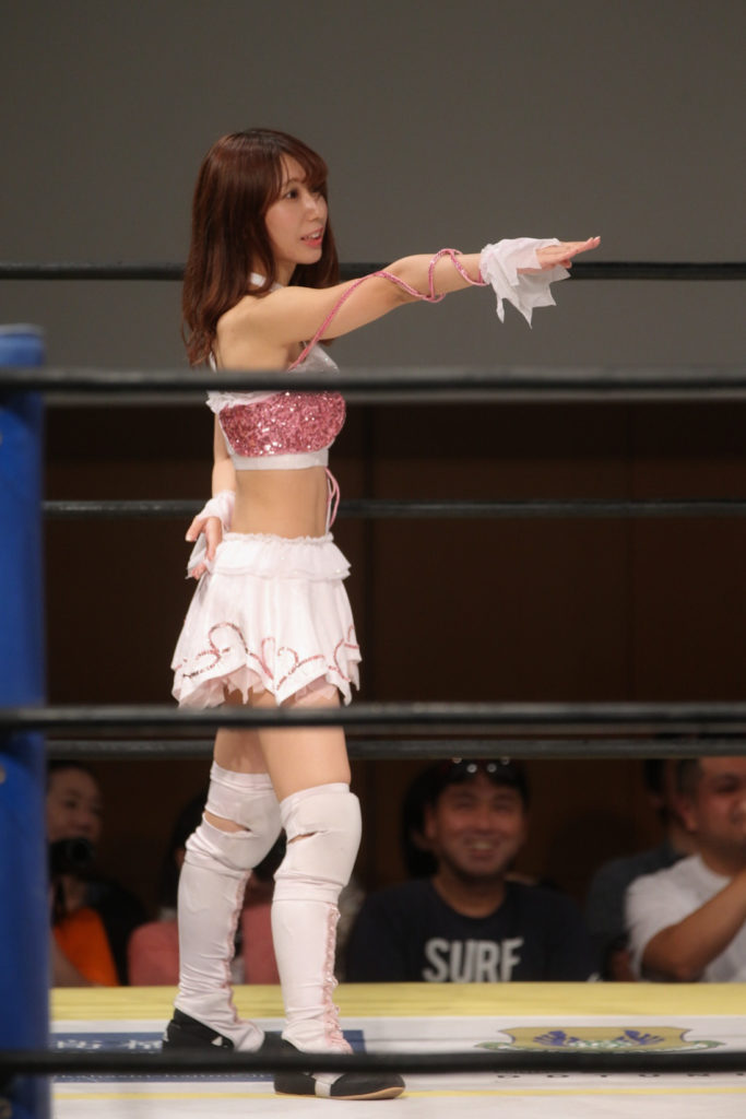 Riho on DDT 20190915 03
