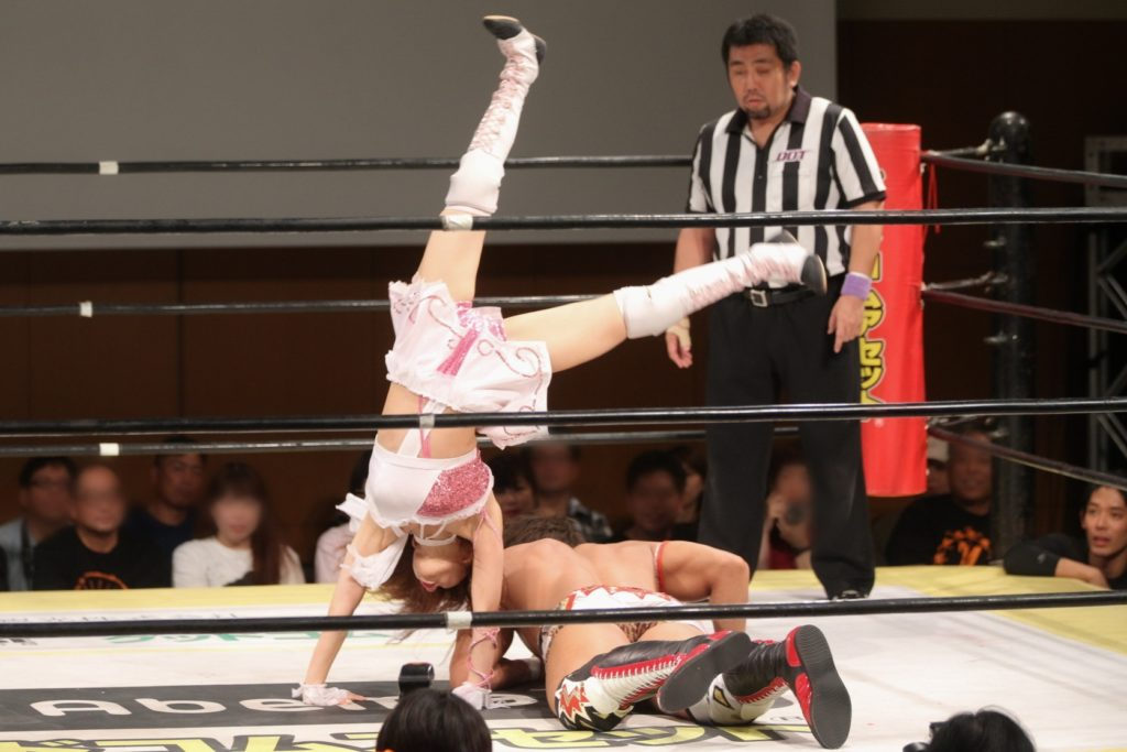 Riho on DDT 20190915 15