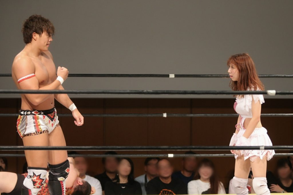 Riho on DDT 20190915 14