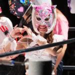 Super Riho on GODDESS OF STARDOM Mask Fiesta 2019/10/27 17