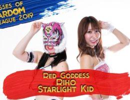 Goddesses of Stardom 2019 Riho and Starlight Kid