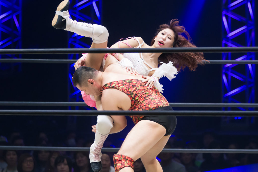 Riho on DDT Ultimate Party 2019 08