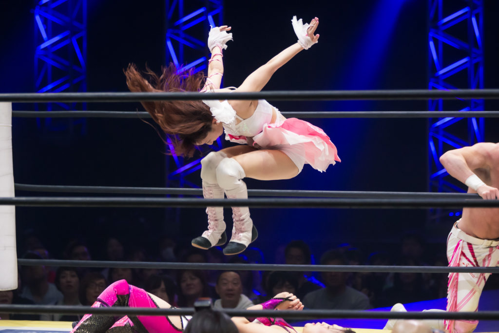 Riho on DDT Ultimate Party 2019 10