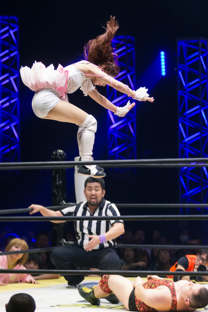 Riho on DDT Ultimate Party 2019 14