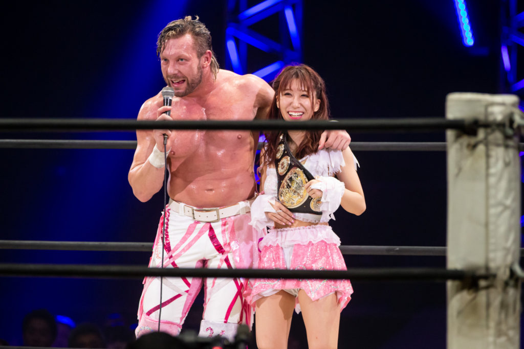 Riho on DDT Ultimate Party 2019 21