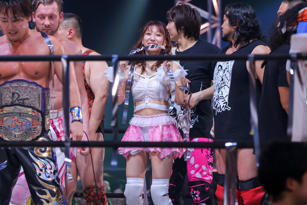 Riho on DDT Ultimate Party 2019 24
