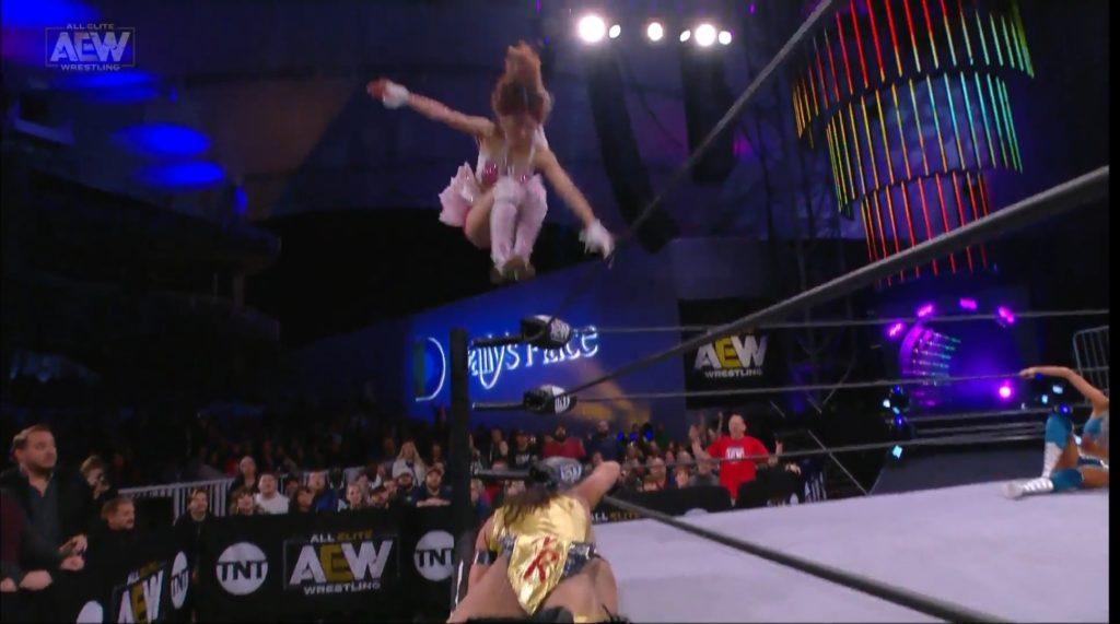 Riho on AEW Dynamite Jacksonville 20200101 05