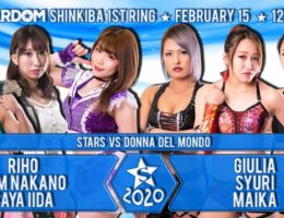 STARDOM New Year Stars 2020 Shinkiba Day2