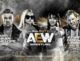 AEW Dark: Riho & Kenny Omega vs Kip Sabian & Penelope Ford