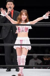 Riho on STARDOM NAGOYA Rainbow Fight 03