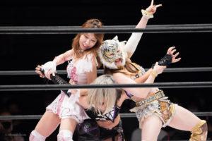 Riho on STARDOM NAGOYA Rainbow Fight 08