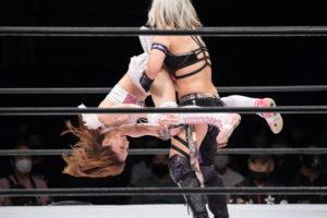 Riho on STARDOM NAGOYA Rainbow Fight 10