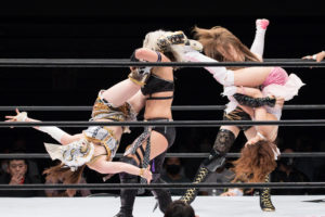 Riho on STARDOM NAGOYA Rainbow Fight 12
