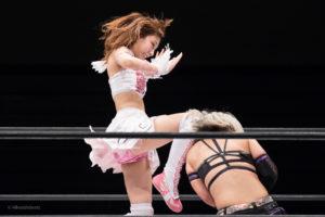 Riho on STARDOM NAGOYA Rainbow Fight 13