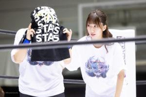 Riho on STARDOM Osaka 20201010 01