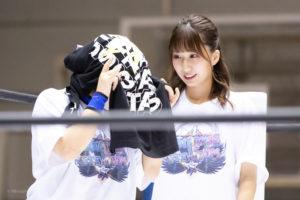 Riho on STARDOM Osaka 20201010 02