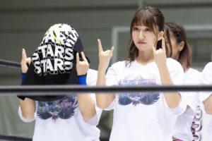 Riho on STARDOM Osaka 20201010 04