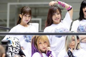 Riho on STARDOM Osaka 20201010 05