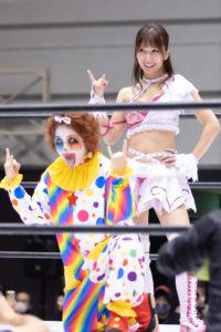 Riho on STARDOM Osaka 20201010 07
