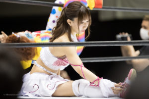 Riho on STARDOM Osaka 20201010 08