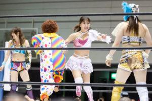 Riho on STARDOM Osaka 20201010 12
