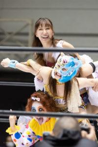 Riho on STARDOM Osaka 20201010 13