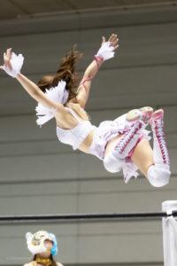 Riho on STARDOM Osaka 20201010 15