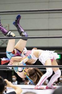 Riho on STARDOM Osaka 20201010 18