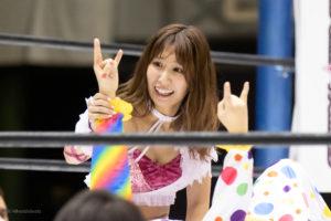 Riho on STARDOM Osaka 20201010 21