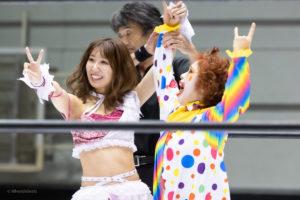 Riho on STARDOM Osaka 20201010 23