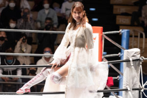 Riho on STARDOM Korakuen 20201018 02