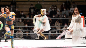 Riho on STARDOM Korakuen 20201018 03