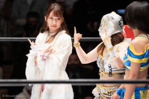 Riho on STARDOM Korakuen 20201018 05