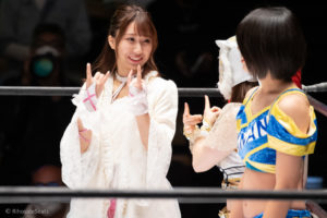Riho on STARDOM Korakuen 20201018 06