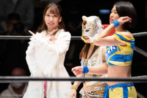 Riho on STARDOM Korakuen 20201018 07