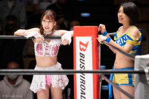 Riho on STARDOM Korakuen 20201018 12