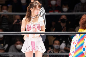 Riho on STARDOM Korakuen 20201018 13