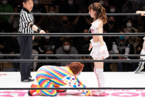 Riho on STARDOM Korakuen 20201018 19