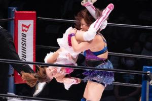 Riho on STARDOM YOKOHAMA CINDERELLA 2020 15