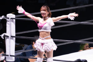 Riho on STARDOM YOKOHAMA CINDERELLA 2020 17