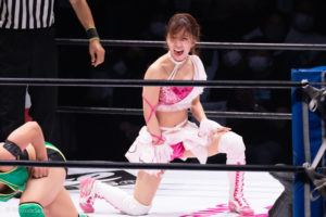 Riho on STARDOM YOKOHAMA CINDERELLA 2020 20