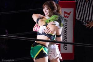 Riho on STARDOM YOKOHAMA CINDERELLA 2020 22
