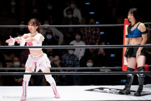 Riho on STARDOM Korakuen Hall 20201114 03